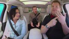 James Corden ile Carpool Karaoke'de Sıra Demi Lovato ve Nick Jonas'ta!