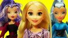 Rapunzel Winx Club Cadısı Oluyor! - Rapunzel, Icy ve Stormy Arkadaşlık Öyküsü!