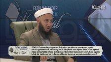 İlmihâl 45. Bölüm 07 Mayıs 2016 Lâlegül Tv Fatih KALENDER Hocaefendi