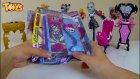 Monster High Dergisi Açıyoruz! Monster High Günlüğü Hediye! Acayip Havalı!