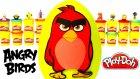 Angry Birds Sürpriz Yumurta Oyun Hamuru - Angry Birds Oyuncakları Shopkins MLP