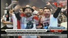 Beşiktaşlı Futbolculardan Ersan Gülüm Tezahüratı!