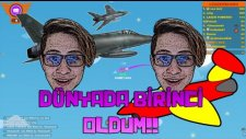 Dünyada Birinci Oldum!! - Wings.io - Ahmet Aga