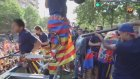 Neymar Kutlamalarda Suarez'i Vurdu!