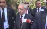 Şehit Cenazesinde Kemal Kılıçdaroğlu'na Yumurta Atılması