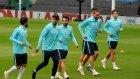 A Milli Takım İngiltere Maçı Hazırlıklarını Tamamladı