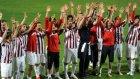 Bandırmasporlu futbolçulardan maç sonu üçlü