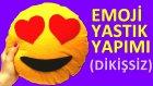Emoji Yastık Yapımı (Dikişsiz) - TumbikTV Kendin Yap