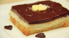 Çikolatalı Pudingli Etimek Tatlısı - Şerbetli Tatlı Tarifi