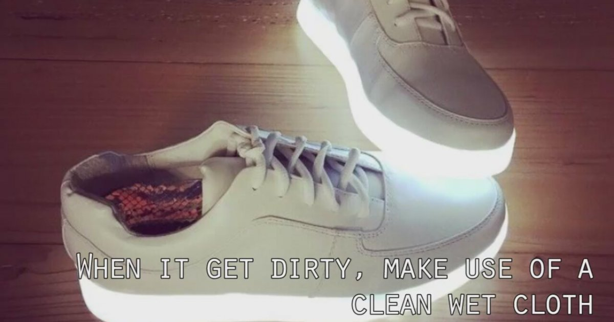 Maintenance Tips For A Lightup Shoe