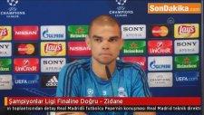 Şampiyonlar Ligi Finaline Doğru - Zidane - Real Madrid Antrenmanından Detaylar