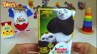 Kinder Sürpriz Yumurta Açıyoruz! 23 Nisan'a özel Kung Fu Panda Kutusu
