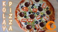 Kolay Pizza Tarifi - Hızlandırılmış Tarifler - Gurme Yemek Tarifleri
