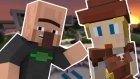 MODERN KÖYLÜLER! - Minecraft : Build Craft - Bölüm 8