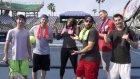 Serena Williams ve Dude Perfect Ekibinden Mükemmel Tenis Hareketleri