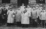 Sultan Vahideddin Mehmed VI, Enver Pasha, Kaiser Wilhelm ve Hiddenburg Beraber