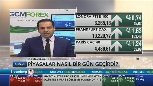 25.05.2016 - Bloomberg HT - 3. Seans - GCM Menkul Kıymetler Araştırma Müdürü Dr. Tuğberk Çitilci