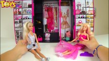 Barbienin Sonsuz Gardrobu!Barbie Fashionista Ultimate Closet! Barbie Kıyafetleri! Barbie Outfits!