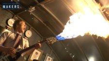 Çılgın Mucit Colin Furze Bu Defa Kendisine Mad Max Tarzı Alevli Gitar Yaptı