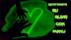 Karanlıkta Parlayan Kryptonite Slime | Fosforlu Slime Nasıl Yapılır - Slime Üstüne Şekiller Çizme
