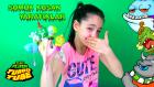 Sümüksü Slime Kusan Yaratık Oyuncaklar | Slime Şeklinde Şaka Oyuncakları Slimy Flush Turbo Tube