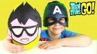 Teen Titans Go! DEV Sürpriz Yumurta Açma Oyun Hamuru Robin Raven Starfire Beast Boy Oyuncakları