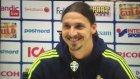 Zlatan'ın Manchester Sorusuna Tepkisi! - Sporx