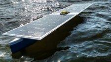 Güneş Enerjisiyle Çalışan Tekne