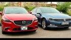 Karşılaştırma - VW Passat vs Mazda6