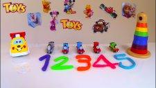 Thomas ve Arkadaşları ile SAYALIM! 5 SAYILAR! Numbers with Thomas and Friends!