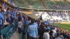 Torku Arena stadında Adana Demirspor taraftarları yerlerini aldı