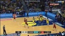 Fenerbahçe 80-55 Galatasaray (Maç Özeti - 27 Mayıs Cuma 2016)