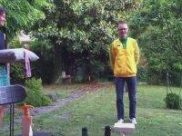 Kendine Madalya Töreni Düzenleyen Sporcu