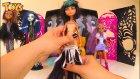 Monster High Parti! Acayip Havalı Arkadaşlar! Freaky Party! Draculara Frankie Stein Clawdeen Wolf
