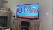 Super Mario Oynayan Kız Arkadaşa Evlenme Teklifi Yapmak!