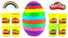 Renkli Oyun Hamuru Dev Sürpriz Yumurta Açma - Oyunhamurutv