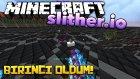 1 Dakikada Tüm Yılanları Yiyip Dünya Birincisi Oldum! - Minecraft Slither.io