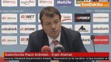 Basketbolda Maçın Ardından - Ergin Ataman