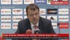 Ergin Ataman, Obradovic'in Yüzüne Tüküren Kişiye Tepki Gösterdi