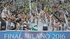 Real Madrid İspanya'da coşkuyla karşılandı