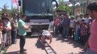 21 Tonluk Otobüsü Tek Başına Böyle Çekti