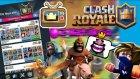 Clash Royalede Tv Royaledeki Desteleri Denedim - Azizgaming35