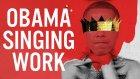 Barack Obama'ya Rihanna'nın Work Şarkısını Söylettiler