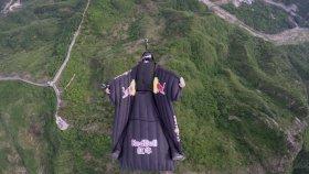 Çin'de 6 Bin Metreden Wingsuit Atlayışı