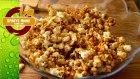 Karamelli Patlamış Mısır - Popcorn - Saniye Anne