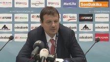 Basketbolda Maçın Ardından - Ergin Ataman (1)