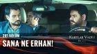 Polat Alemdar Erhan'ı Tersliyor! - Kurtlar Vadisi Pusu 297. Bölüm (26 Mayıs Perşembe)