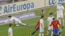 Alvaro Morata'nın Güney Kore'ye attığı gol