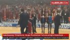 Galatasaray Yöneticisi Can TopsakalS, Kupa Posterine Fotomontajla Kendisini Ekletti