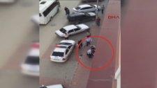 Polisten Sert Müdahale Böyle Görüntülendi